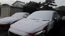 雪降らんとか吐いたら降っちゃった(泣)