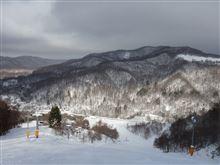 美唄国設スキー場で初滑り(2014.12.19)