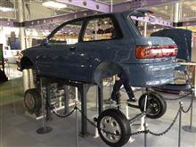 科学館の展示車両EP82スターレットに会ってきた。(スリーエム仙台市科学館)