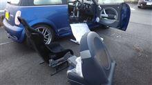 MINI 車検後 再びバケットシート