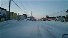 やっと道路が平らになりました! (o^^o)