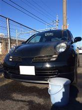 たぶん今年最後の洗車day。