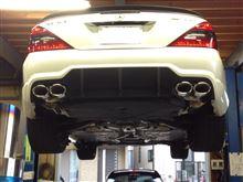 メルセデス・ベンツ SL63 AMG仕様 シュレンザーマフラー