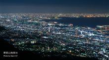 日本三大夜景 ~ 摩耶山 掬星台