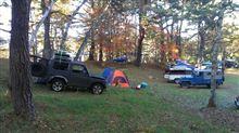 SJ30で松原湖キャンプへ