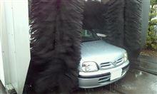 今年最後の洗車。