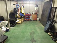 バックモニタ取り付けとガレージの掃除(半分)^^;