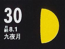 月暦 12月30日(火)