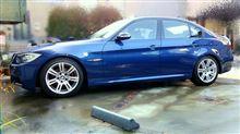 洗収 今年最後の洗車と光軸調整。
