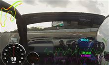【サーキット】【PP1】鈴鹿南コース 2014.12.29 part.3 走行ログ分析 1~2コーナー