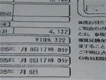 登録初年度より15年、6度目の車検