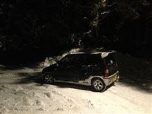 今シーズンの雪ドリ