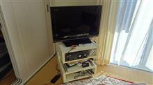 テレビ台とREGZA(26A8000)とPC接続設定