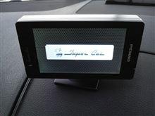 GPSレーダー取付 W204 Cクラス