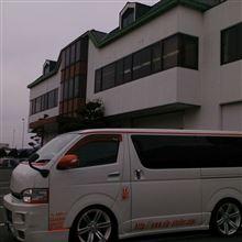 2015/01/21 平面発光LEDデイライト長距離&防水テストラン♪