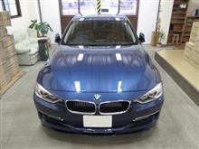 BMWアルピナ B3 ビターボ リムジン、採寸&装着確認(完成)