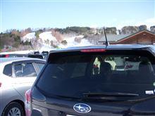 晴天!スキー日和でした!