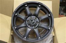 今日のホイール TSW BlackRhino Glamis(TSW ブラックライノ グラミス) -トヨタ ランドクルーザープラド用-