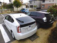 今日は洗車 2台+1