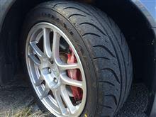(結構前の話ですが・・・)タイヤ換えました