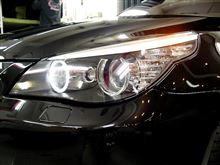 迫力のサウンド。。BMW M5