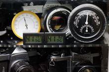デジタル湿度計の精度確認