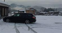 1ヶ月ちょっとぶりの雪景色
