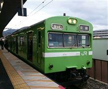 奈良線の103系