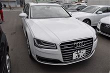 AUDI A8L 【P-SYS】TVキャンセラー取り付け