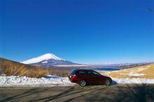 富士山雪遊び  Webにアップしました。