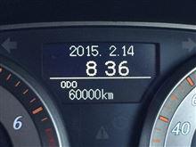 祝!6万キロ