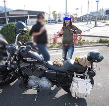 妹がバイク乗りになっていてかっちょよすぎる件w