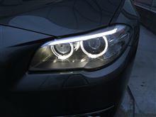 ヘッドライトの水滴曇り(欧州車あるある?)