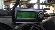デミオ(DE5FS 5MT)でのスピードリミッター作動の様子。