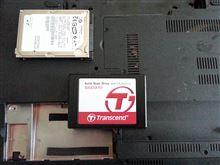 SSD換装で高速化
