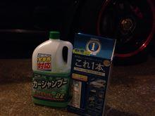 夜洗車2015/02/24