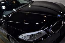 ブラックカラーはこうでなくては!BMW・523iのガラスコーティング【リボルト静岡】