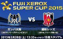 FUJI XEROX SUPERCUP 2015 vsガンバ大阪