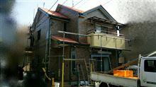 外壁 外壁屋根再塗装終了。