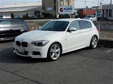 今日も元気に..人気の補強パーツ BMW F20 Cpm