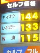 2月の燃費報告~
