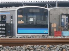 JR205系電車解体現場視察