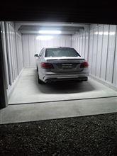 ガレージ完成。