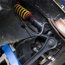 【PP1】車高調スプリング X COILS F:6k、R:7k サーキット感想