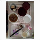 病院の夕食( ・_・)