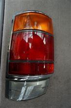 US風コンビテールで赤/透明仕様に変更したいな 130クラウンワゴン