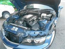 BMW Z3のイオイル交換