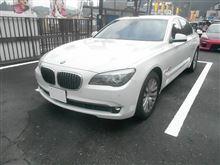 BMW750i ランフラットタイヤ交換