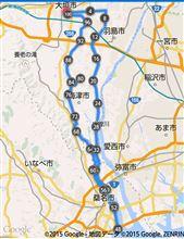 2週連続100km超え~♪