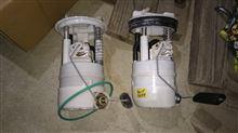 キューブ 燃料ポンプ交換 Z12燃料ポンプ流用